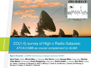 CO(1-0) survey of High-z Radio Galaxies: ATCA/CABB as crucial complement to ALMA