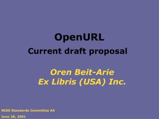 Oren Beit-Arie Ex Libris (USA) Inc.