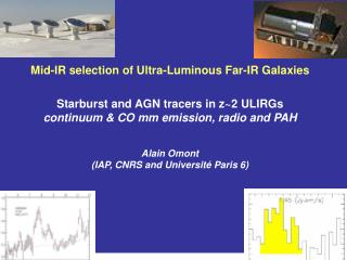 Mid-IR selection of Ultra-Luminous Far-IR Galaxies Starburst and AGN tracers in z~2 ULIRGs