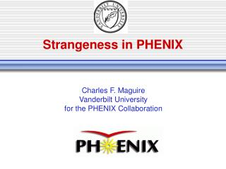 Strangeness in PHENIX