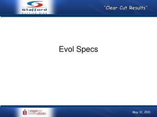 Evol Specs