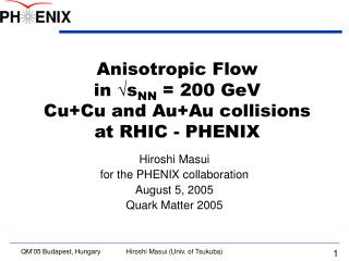 Anisotropic Flow in  s NN  = 200 GeV  Cu+Cu and Au+Au collisions  at RHIC - PHENIX