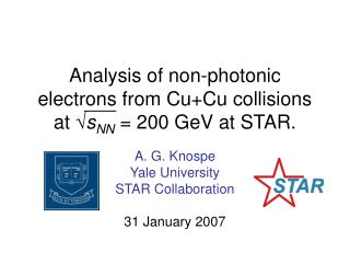 Analysis of non-photonic electrons from Cu+Cu collisions  at  √ s NN  = 200 GeV at STAR.