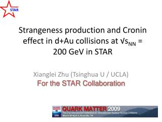 Strangeness production and Cronin effect in d+Au collisions at √s NN  = 200 GeV in STAR