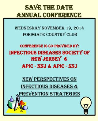 Save the date Annual Conference