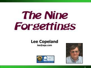 Lee Copeland lee@sqe