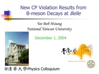New CP Violation Results from  B-meson Decays at  Belle