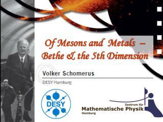 Heidelberg, June 2008 Volker Schomerus  - DESY Hamburg -
