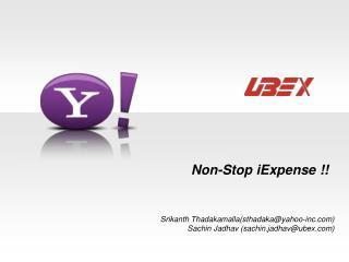 Non-Stop iExpense