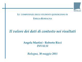 Le  competenze degli studenti quindicenni in  Emilia-Romagna