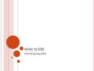 Cascading Style Sheets CSS Basics
