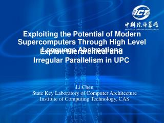 Exploiting the Potential of Modern Supercomputers Through High Level Language Abstractions