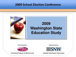 2009 School Election Conference