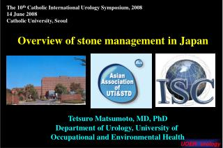 Overview of stone management in Japan