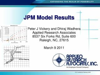 JPM  Model Results