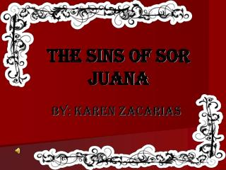The Sins of Sor Juana