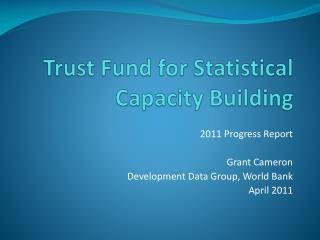 Trust Fund for Statistical Capacity Building