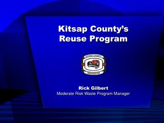 Kitsap County's Reuse Program