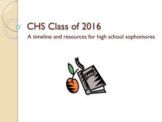 CHS Class of 2016