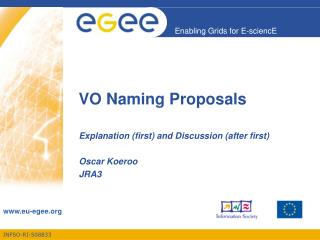 VO Naming Proposals