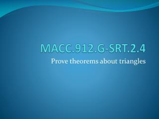 MACC.912.G-SRT.2.4