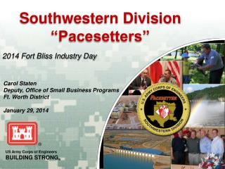 "Southwestern Division  ""Pacesetters"""