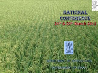 National Conference 24 th  & 25 th  March 2013