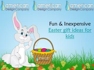 Fun & Inexpensive Easter gift ideas for kids