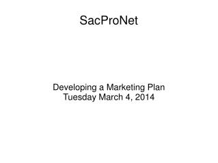 SacProNet