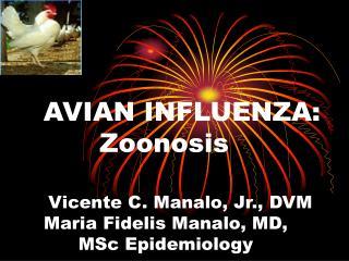 AVIAN INFLUENZA: Zoonosis
