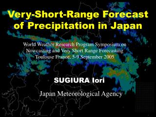 Very-Short-Range Forecast of Precipitation in Japan