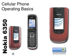Cellular Phone  Operating Basics