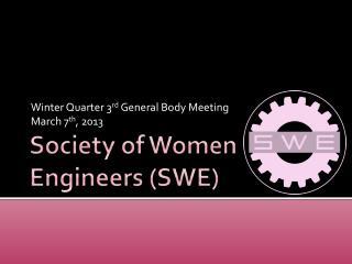 Society of Women Engineers (SWE)