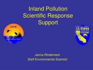 Janna Rinderneck Staff Environmental Scientist