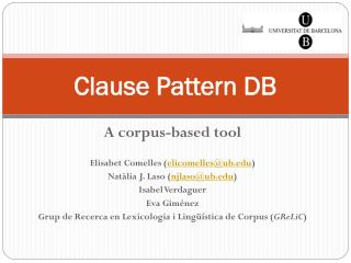 Clause Pattern DB