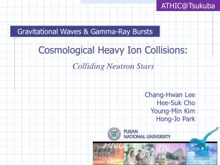 Cosmological Heavy Ion Collisions: Colliding Neutron Stars