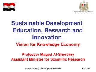 Sustainable Development  Education, Research and Innovation