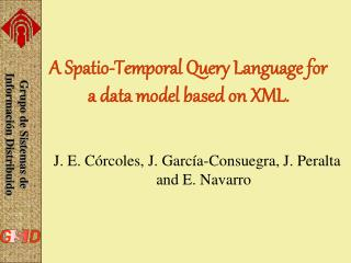 A Spatio-Temporal Query Language for a data model based on XML.