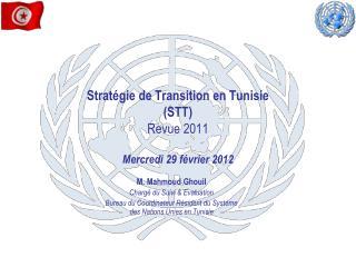 Strat�gie de Transition en Tunisie (STT) Revue 2011