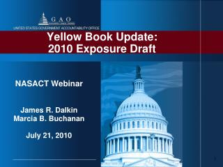 Yellow Book Update:  2010 Exposure Draft
