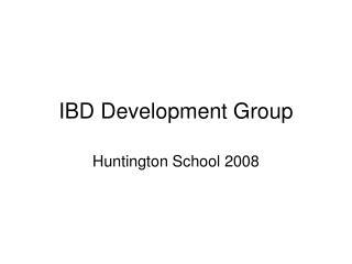 IBD Development Group