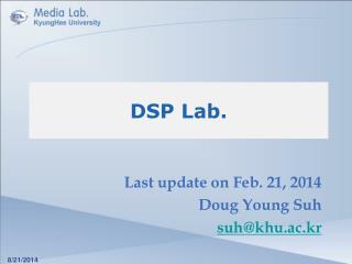 DSP Lab.