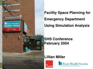 Facility Space Planning for Emergency Department Using Simulation Analysis