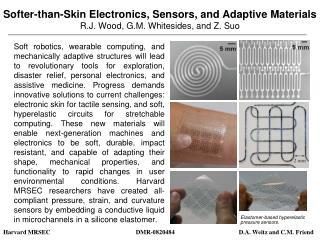 Elastomer-based hyperelastic pressure sensors.