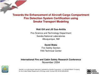 Towards the Enhancement of Aircraft Cargo Compartment