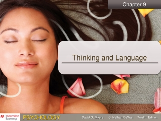 Chapter 9: Language and Thought
