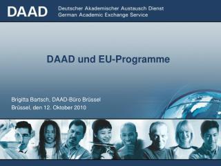 DAAD und EU-Programme