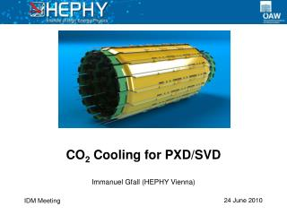 CO 2  Cooling for PXD/SVD