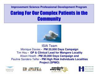 Improvement Science Professional Development Program