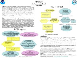 """""""EOT2"""" H. M. van den Dool  CPC/NCEP"""